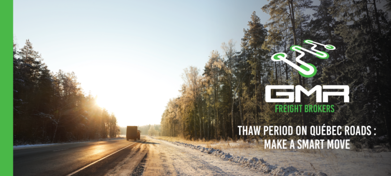 Thaw period: making the most of transport operations in spite of imposed limits